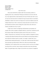 Legalizing prostitution essay outline