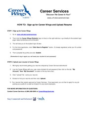 APPROVED CWings Student Registration