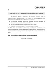 ESTABLISHMENT OF TELEHOUSING FACILITIES IN PAKISTAN MS THESIS CH 3.doc