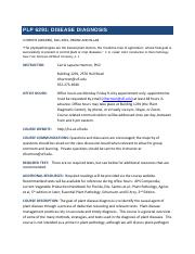 Syllabus_Disease-Diagnosis-PLP6291-8-18-15