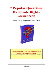 7-Popular-Questions-on-Resale-Rights-Answered