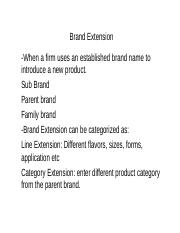 Brand Extension1.ppt