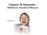Chapter 36-Immune System