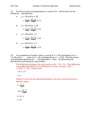 PSY 230 Chapter 05 Practice Solutions.docx