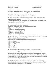 2. Units Worksheet