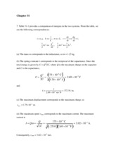 Chapter 31 Solution-9ed