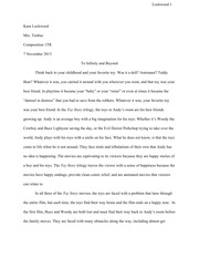 To infinity and beyond essay