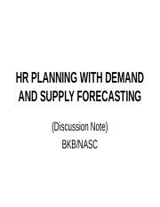 HR demand and supply.ppt