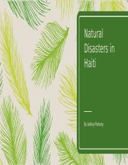 Natural Disasters in Haiti.pptx