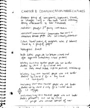 Communication across cultures notes