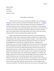 English Essay Research Report Essay