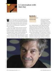A Conversation With Alan Kay