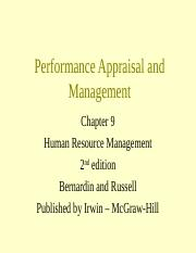 PERF. APPRAISAL  MGMT.ppt