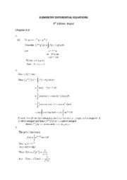 ELEMENTRY DIFFERENTIAL EQUATIONS 6.6