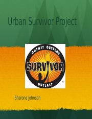 Urban Survivor- Project..pptx