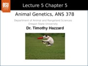 Lecture 5 Chapter 5
