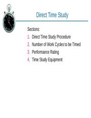 5_Direct_Time_Study.ppt