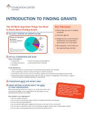 Introduction to Finding Grants_Handout (1)