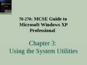 Windows Xp Professional Chapter 03