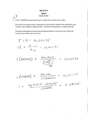 MA 373 S11 Quiz 4 Solutions