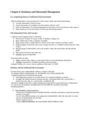 OMIS2000 Chapter 6-8 Notes