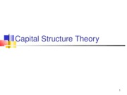 7Capital Structure Theory2