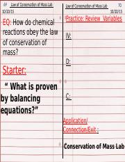 law of conservation of mass lab 10.20.15.pptx