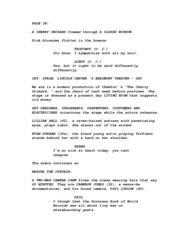 Film Assignment screenplay