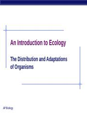 Ch_50 Intro to Ecology 1.ppt