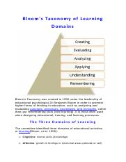 Bloom's Theory on Learning.docx
