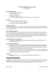econ 201 syllabus