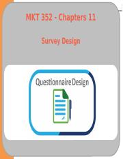 07 - Ch11 - Survey Design.pptx