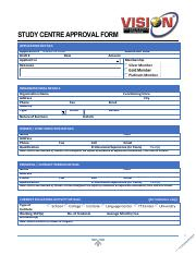VIC Application Form