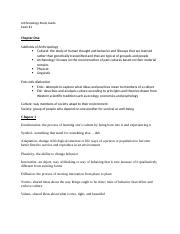 Anthropology Study Guide 1.docx