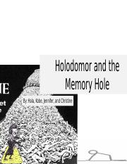 Holodomor and the Memory Hole.pptx