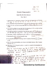 Abstract Algebra Homework 9