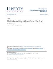 The Millennial Reign of Jesus Christ (Part One).pdf