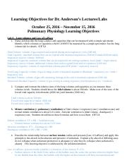 Anderson 3051 Learning objectives Fall 2016