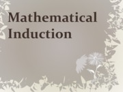Mathematical-Induction