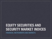 FIM_Lecture_2_EquitySecurities