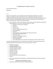 Fundamentals of Human resources 1.docx