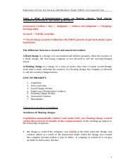 Topic 1(Part 2)-Amended supplementary notes & questions-Fraudulent & unfair preference notes