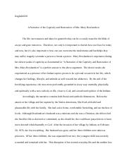 the sovereignty and goodness of god documents course hero essay final