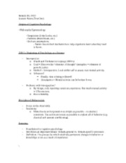 Class Two (Test One Notes)
