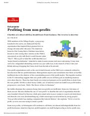 Profiting from non profits  The Economist.pdf