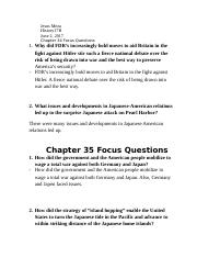 Jesus Meza chapter 34 &35 questions
