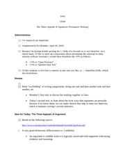 104A - CN08 - The  Three Appeals of Argument