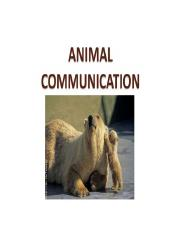 Animal communication.ppt