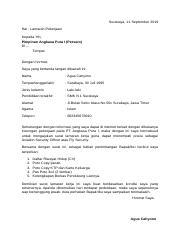 59 Pertamina Persero Contoh Surat Lamaran Kerja Ke Pertamina
