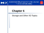 CPE432 - 5 - Storage and Other IO Topics